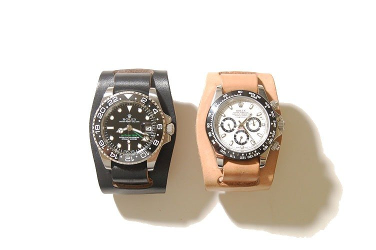 2 Pieces Watch Straps - Two Piece Military Strap