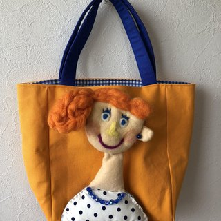 Bag with doll E