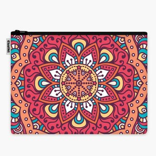 SpaceSuit - Document Pouch - Mandala iii
