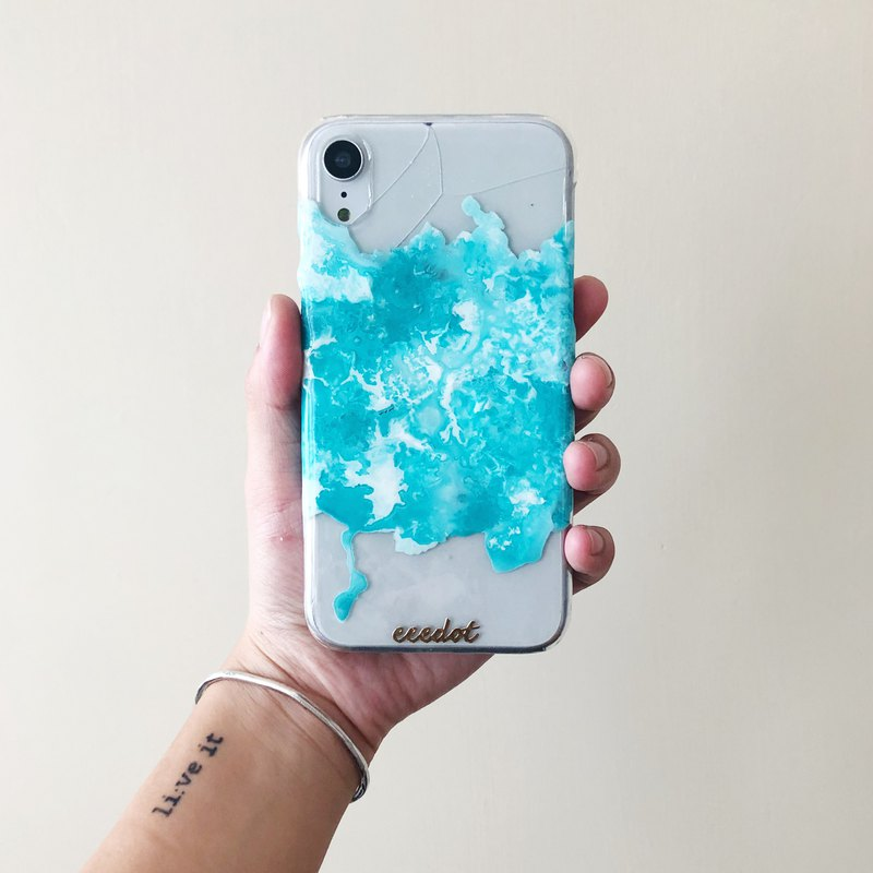 IPHONE XR | Ice | Hand-painted phone case