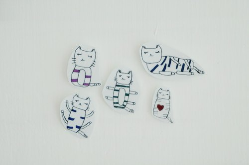 Cllare Sticker-Cat 1