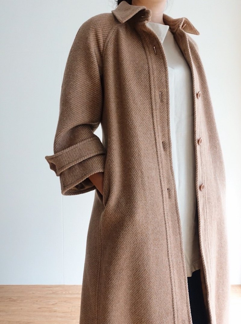 Vintage Coat / Wool No.51 A