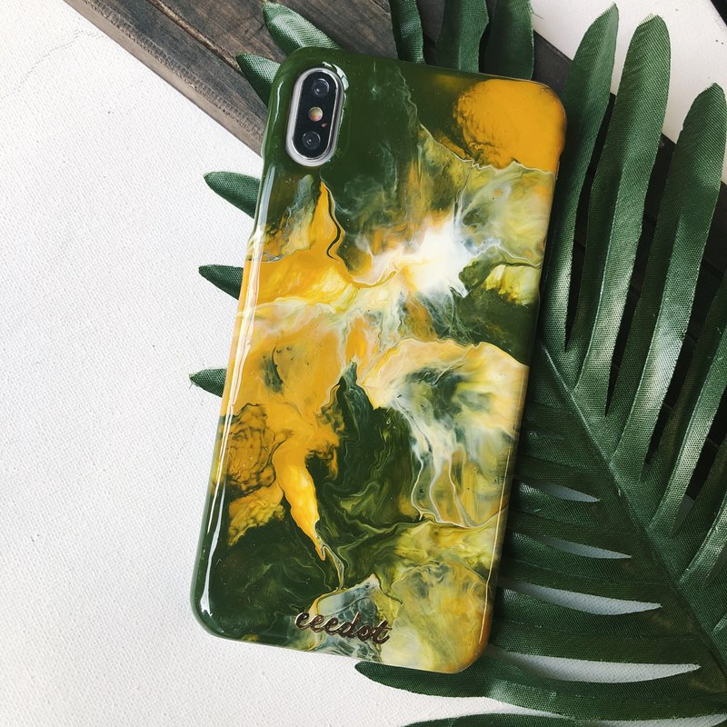 IPHONE XS MAX | Jungle | Hand-painted Phone Case