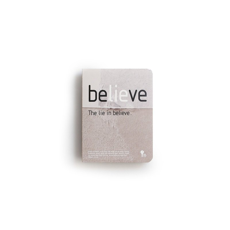 JIUKOUSHAN Jiukoushan 320Pages kraft paper nude notebook Lie in Believe