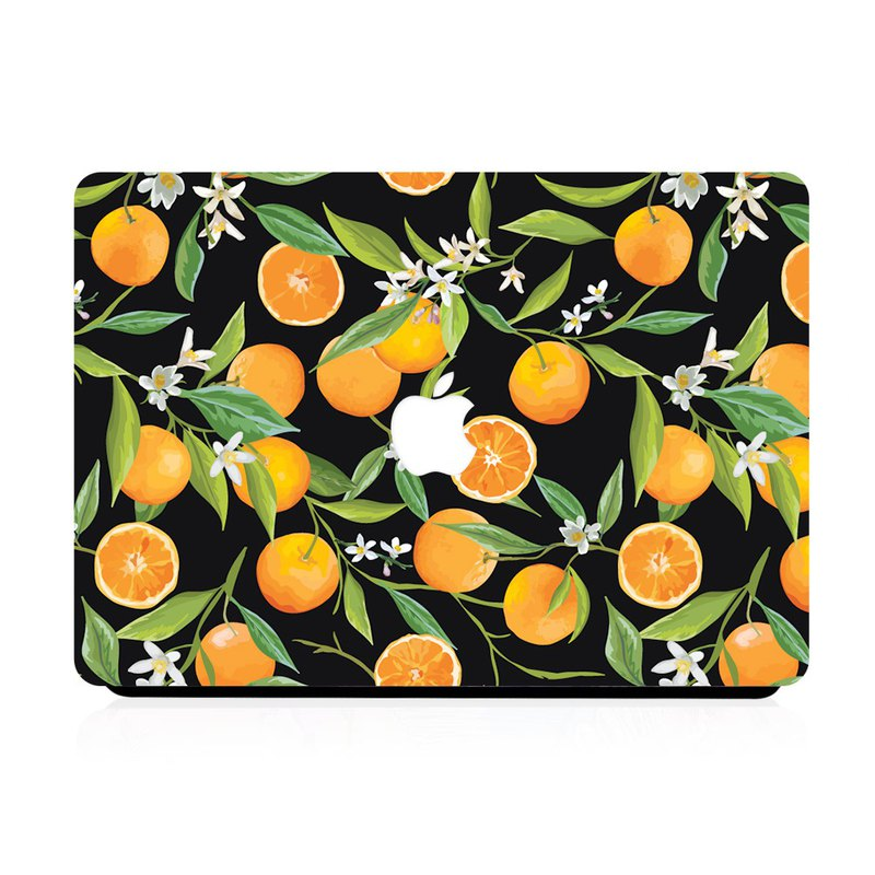 Slick Case MacBook Case - Citrus Plants