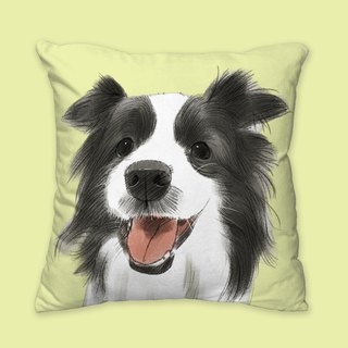 [I will love you forever] Classic Border Collie Pillow Animal Pillow / Pillow / Cushion