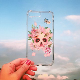 Handmade flower series [skull and flower]
