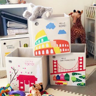 Kaikai & ash toy storage box - popular city group