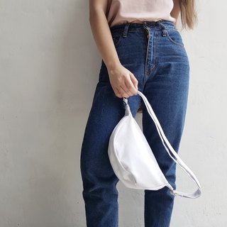 MINI WHITE TOP BAG