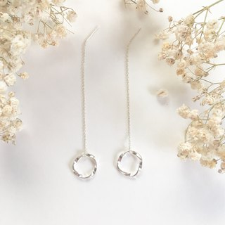 Twist Wreath Earrings S925 Sterling Silver Earrings Anti Allergy