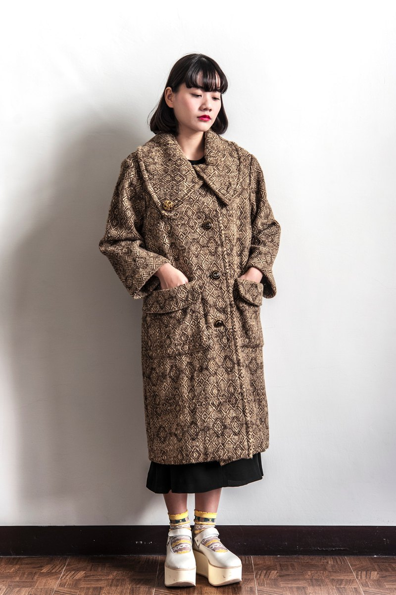 Vintage retro collar vintage coat