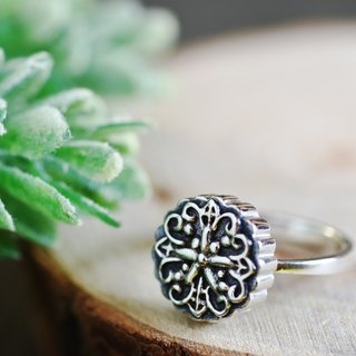 Mid-Autumn Mooncake (Purple Silver Ring, Mid-Autumn Festival) ::C% Handmade Jewelry::