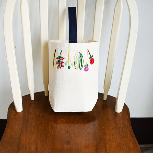 Renee Herbal String Herbal Embroidery Embroidery Shopping Bag