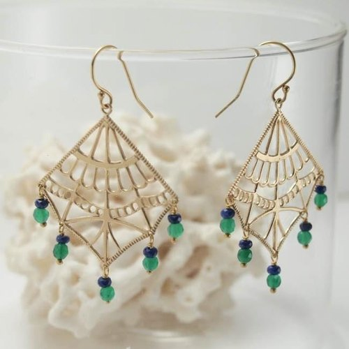 ishtar earrings (earrings) type 4 [FP242-1]