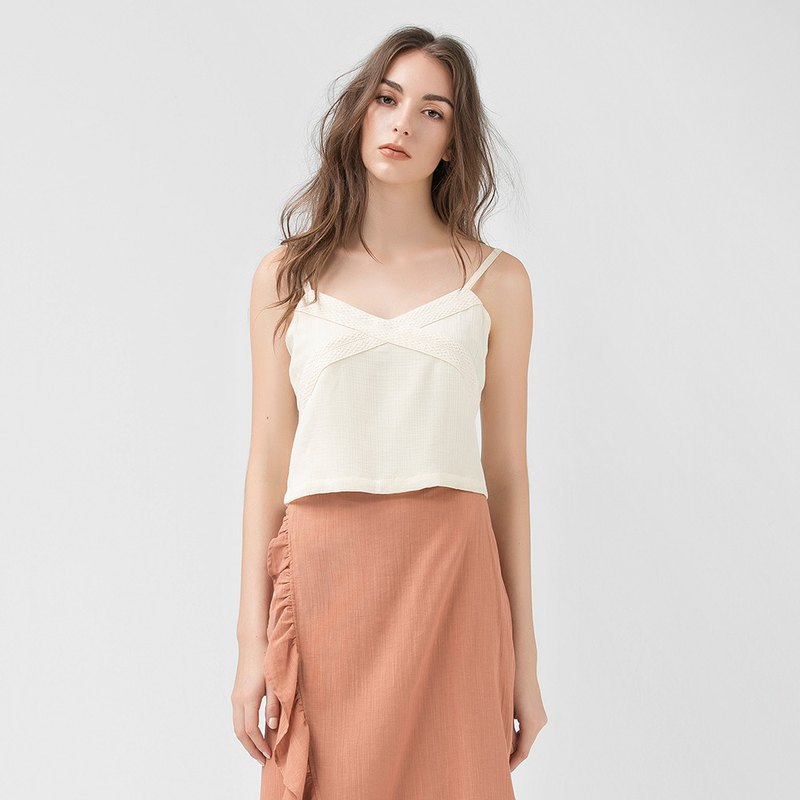 VACAE Short Strapless Top