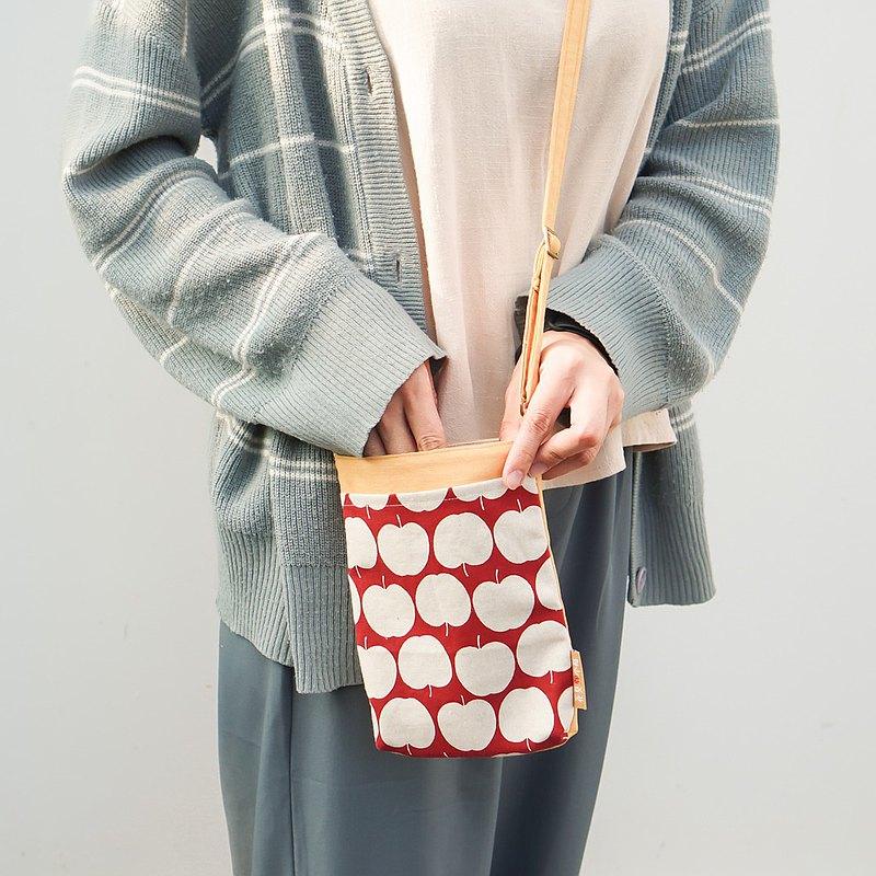 挑花布訂製自己的生日禮物  斜背包