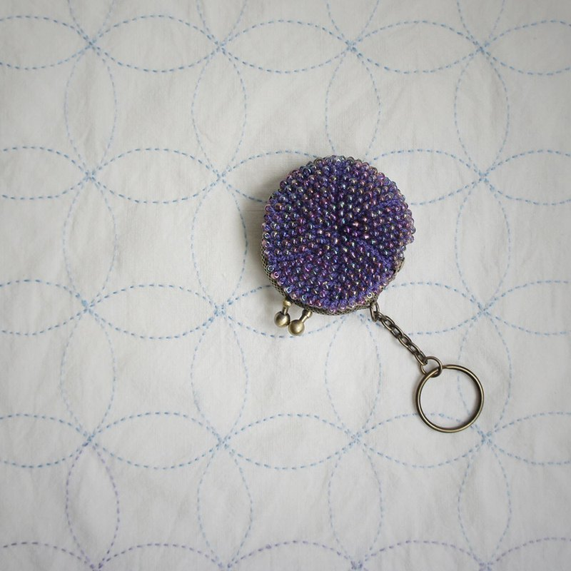 Ba-ba handmade  Beads crochet mini-coinpurse  No.853