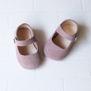 Baby Girl Shoes, Baby Moccasins, Dusty Rose Leather Mary Jane Shoes, Baby Shower