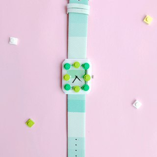 Green grass summer LEGO watch