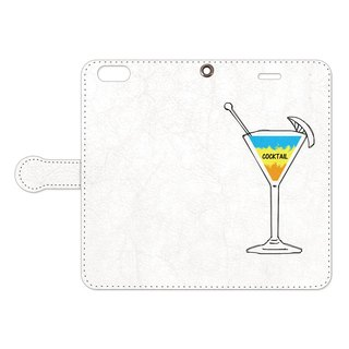[Notebook type iPhone case] Cocktail 2