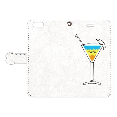 [手帳型iPhoneケース] Cocktail 2