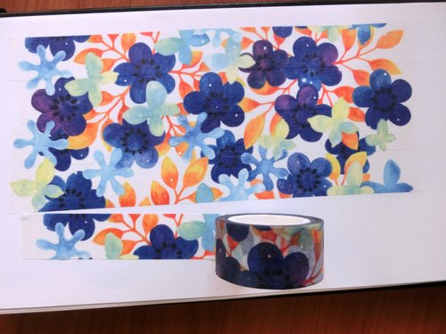 Sensen show the original Prussian blue paper tape morimorishow-