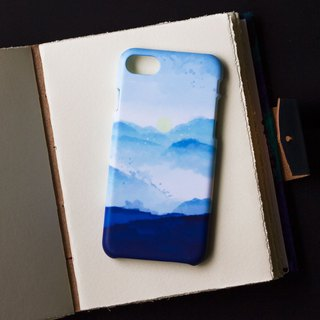 Sunset and Mountain. Matte Case (iPhone, HTC, Samsung, Sony)