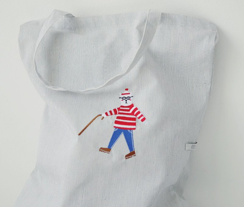 Tote Bag : WALLY BEAR