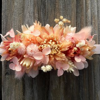 With real flowers | | jellyfish dry flower hand flower wedding hand made