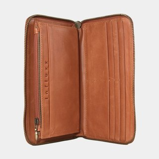 Influxx UN1 Everyday Leather Wallet – Orange