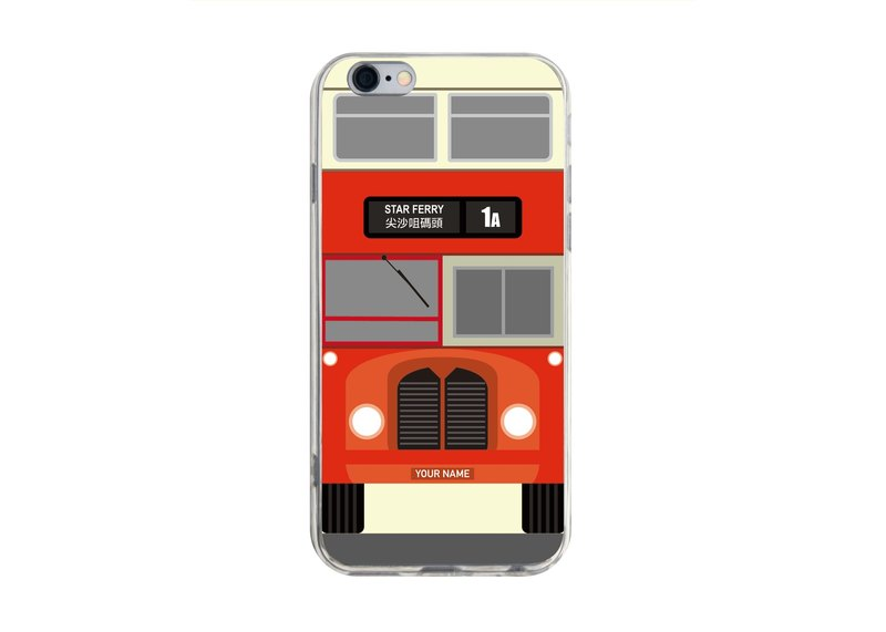 Hong Kong Bus D - iPhone X 8 7 6s Plus 5s Samsung S7 S8 S9 Mobile Shell