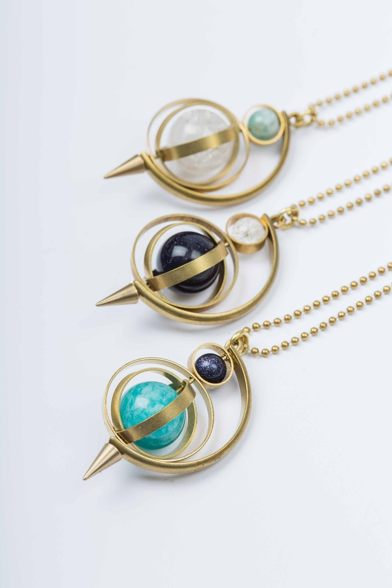 Planetarium of Tapered Necklace