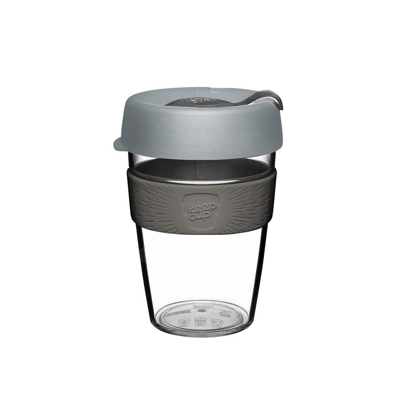 KeepCup Clear M - Grey Charcoal