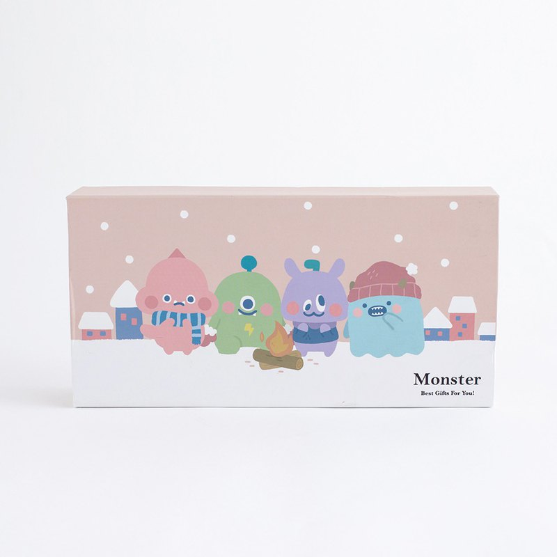 Little Monster Series Eye Mask Gift Box (Pure Gift Box Without Eye Mask)