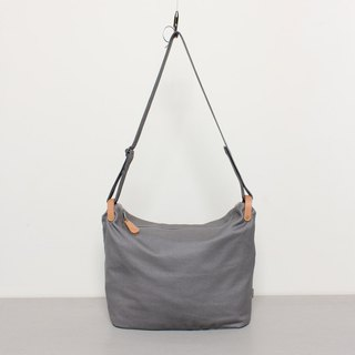 Dumpling bag Tote bag Large capacity Daily Super easy to use - Grey