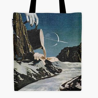 Spot - Filament Canvas Bag - Enceladus