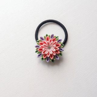 Glamorous Fabric Flower Hair Tie custom