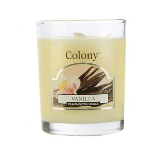 British Fragrance Colony Series Vanilla Small Jar Glass Candle