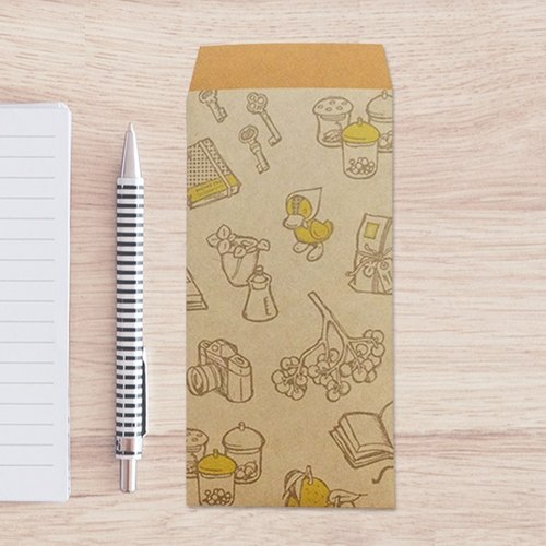 Japanese Gift-Money Envelopes of kraft paper - DUCK -