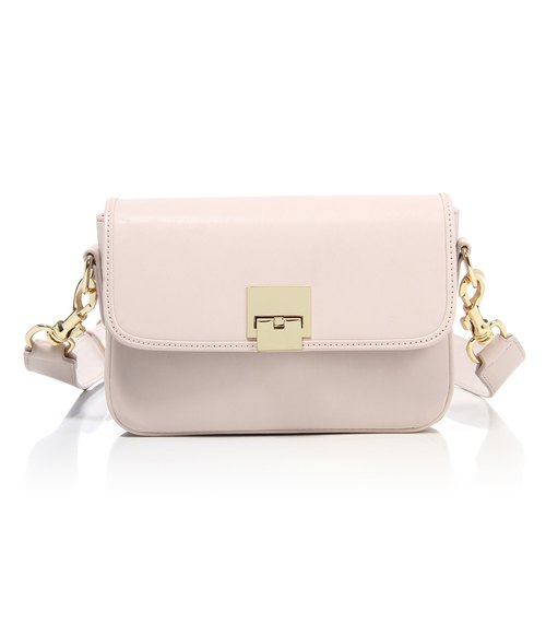 MIN Vintage Leather Shoulder Bag