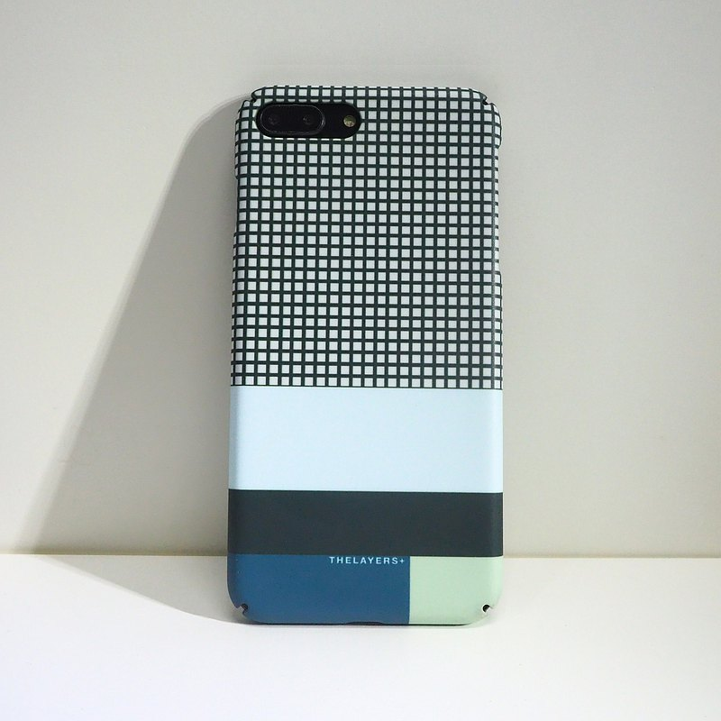 GRAPHIC PRINT - SEAFOAM iPhone Case