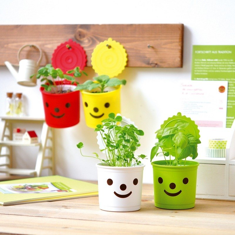 Smile&Smile Smile Healable Potted Pots (Four)