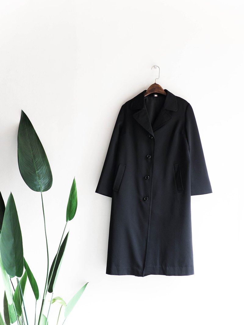 River Water Mountain - Saitama independent calm classic dark antique thin trench coat jacket trench coat jacket coat oversize vintage