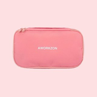 190 pink | multi-function ultra-light storage bag universal storage bag pencil case