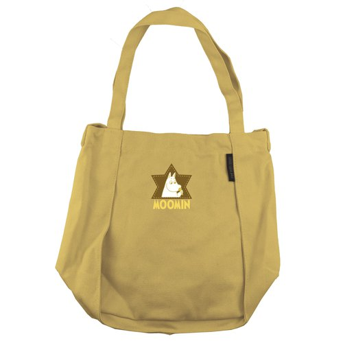 Moomin Moomin rice - flower bud shoulder bag (yellow), CB8AE01