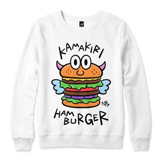 HAMBURGER - White - Neutral University T