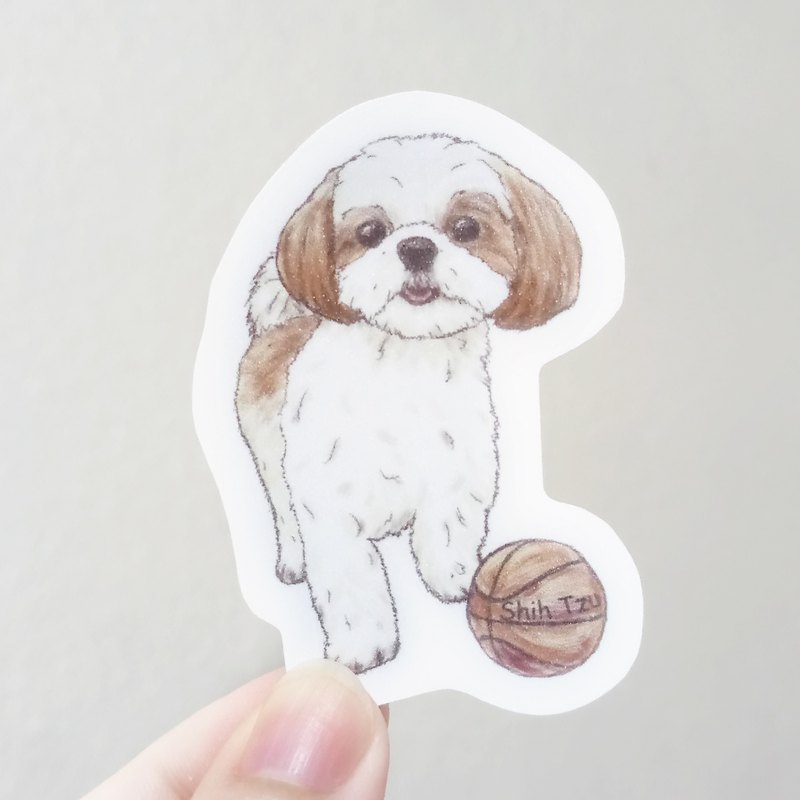 Sketch Dog Series ~ Mixed Style (Any Take) - Waterproof Sticker (6 In) (No Paper Card)