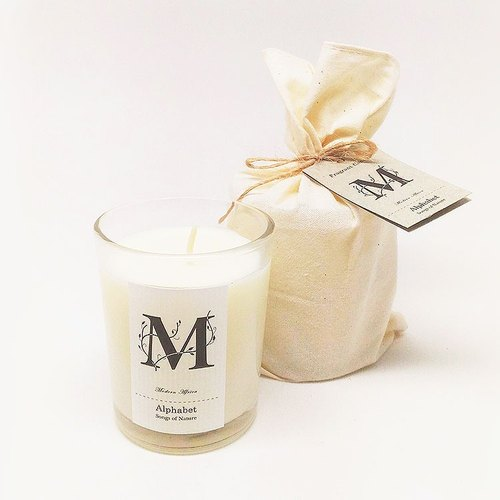 Art Lab - Alphabet Fragrant Candle - Modern Africa