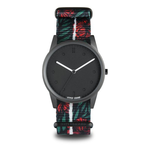 "HYPERGRAND - 01 Basic Series - ""HOLIDAY"" STREAK Waterfall Rainforest Watch"