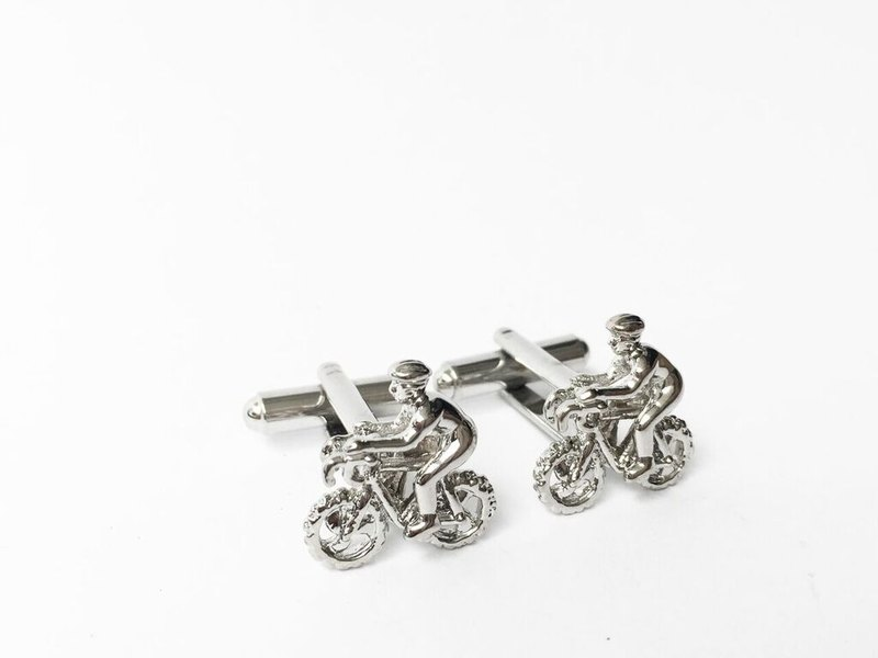 Sports Series - Cycling Cufflinks (Small Amount) Cycling Cuffliink